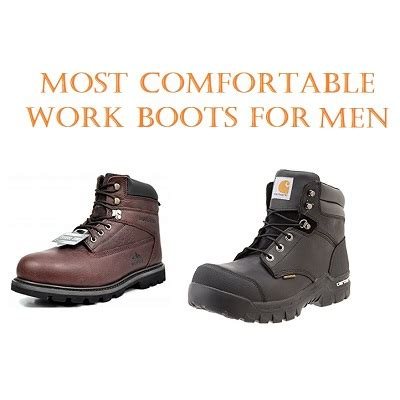 Most Comfortable Work Boots by Top 15 Most Comfortable Work Boots For In 2018 Work Wear