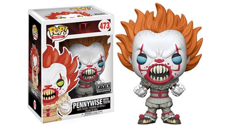 pop it pennywise from stephen king s it gets terrifying new funko