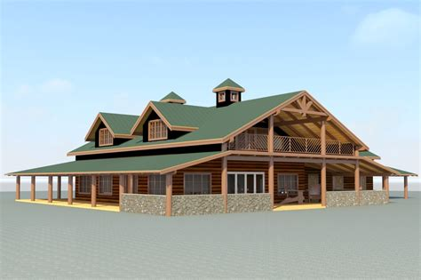 Rustic Barn House Plans Cottage House Plans