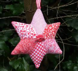 how to make a patchwork star tea and a sewing machine