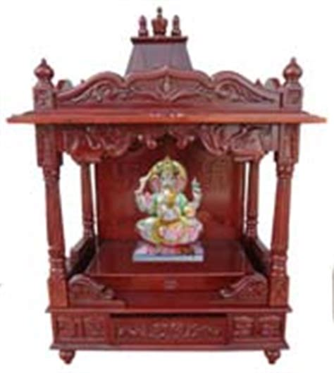code 81 wooden carved teakwood temple mandir furniture