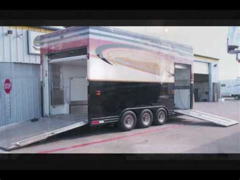 featherlite stacker trailer walkabout rv youtube