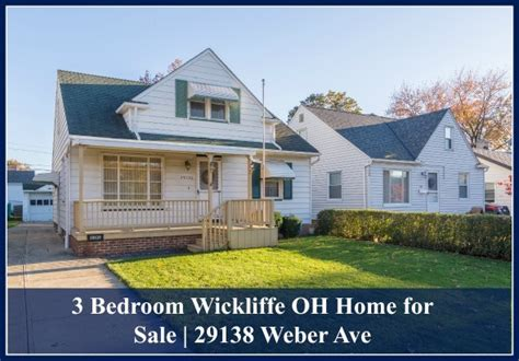 3 bedroom wickliffe oh home for sale 29138 weber ave