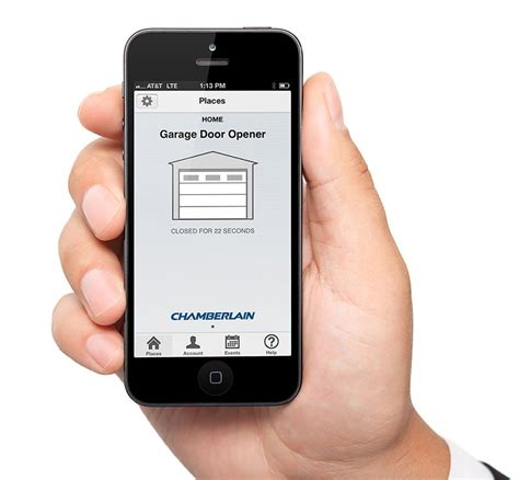 Garage Door Opener Cell Phone App Chamberlain Myq G0201 Myq Garage Controls Your Garage Door Opener With Your Smartphone Garage