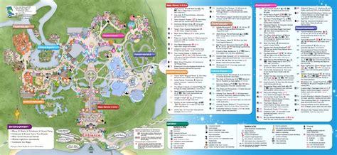 printable version of magic kingdom map 8 best images of printable disney world magic kingdom map