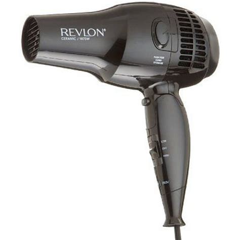 Revlon Hair Dryer Nozzle Attachment revlon rvdr5012 ceramic ionic travel hair dryer 100 240