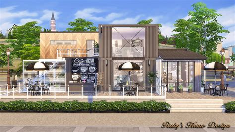 4 home design store sims4 container coffee shop no link ruby s home design