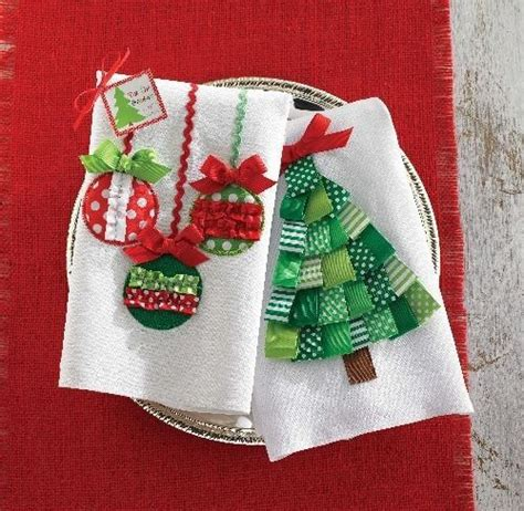 kitchen towel craft ideas homemade gifts for the holidays dish towels homemade