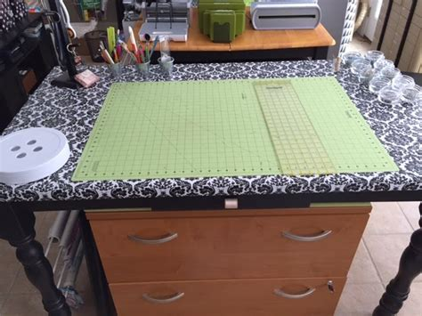 sew  ways vinyl covered sewing  craft table