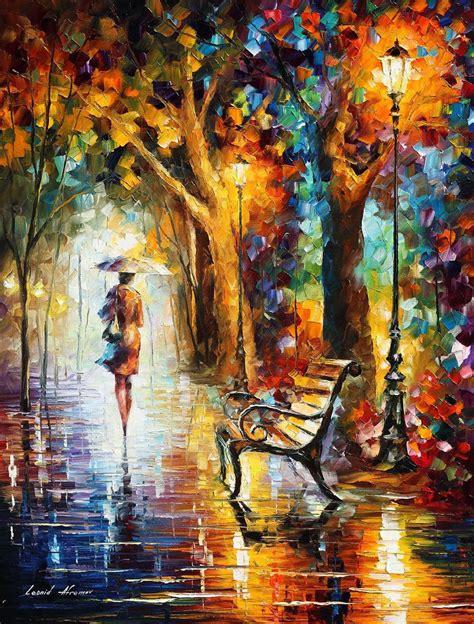 show de painting the fusion of colors in leonid afremov s nostalgic