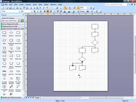 visio connector tool tips key points microsoft office visio 2007 step by step