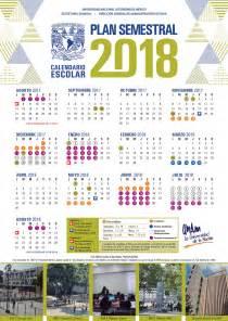 Calendario 2018 Buap Unam Dgae Siae Actividades Calendarios