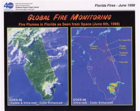 florida wildfires florida fires june 1998