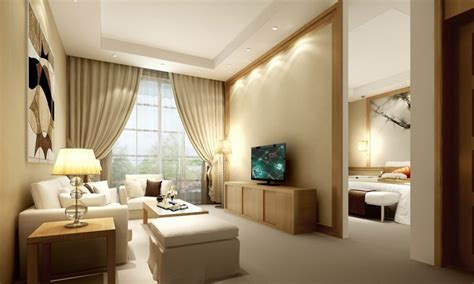 bedroom in living room beige couch living room decobizz com
