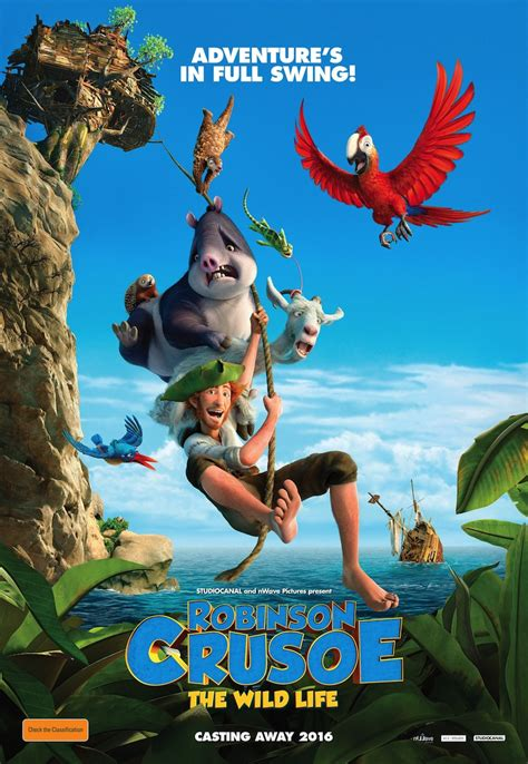 crusoe the robinson crusoe the trailer and poster