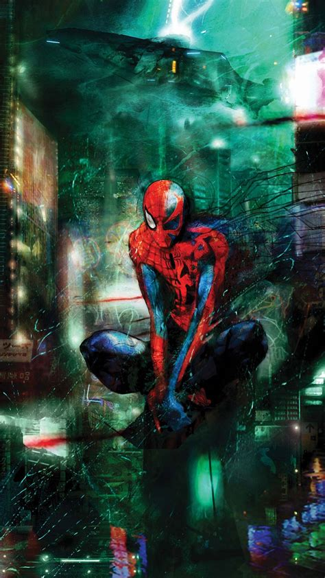awesome spider man iphone  wallpapers hd iphone