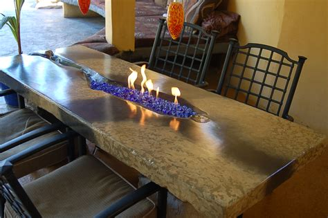 diy portable glass pit fireplace design ideas