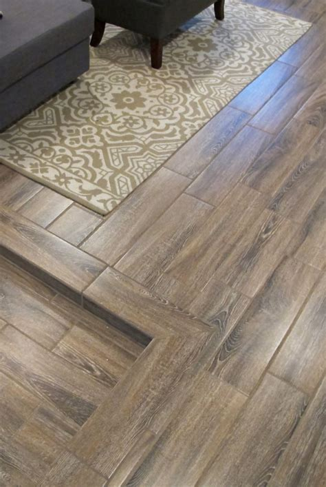 beautiful and durable basement flooring ceramic wood tiles