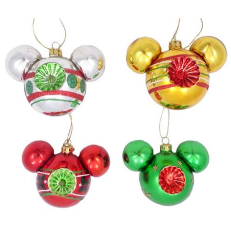 your wdw store disney christmas ornament set designer