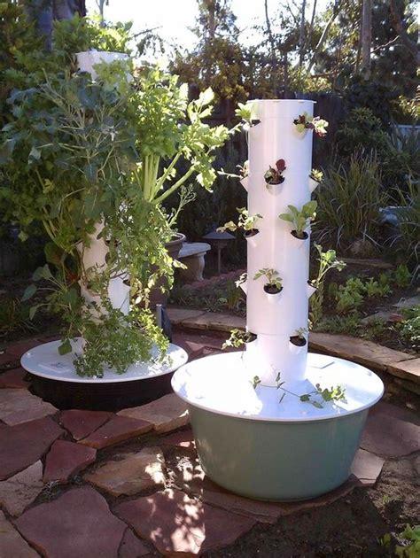 aeroponics tower garden images  pinterest