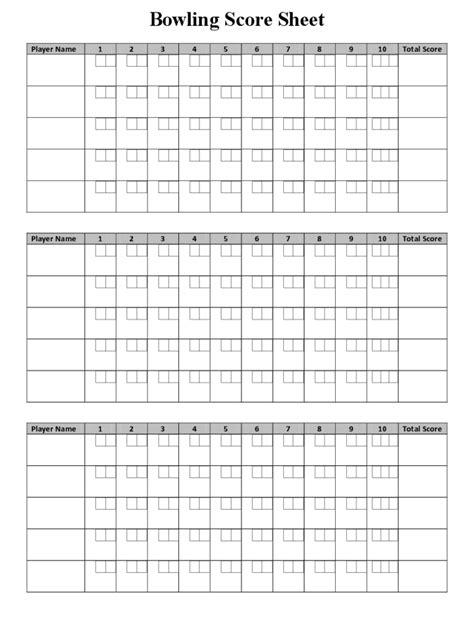 bowling score sheet bowling score sheet 7 free templates in pdf word excel