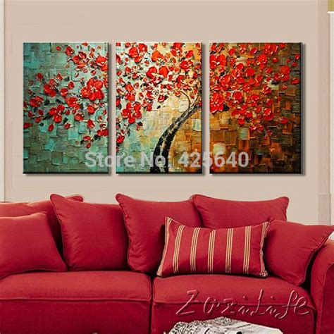 Painting A Living Room aliexpress com buy oil painting on canvas wall paintings