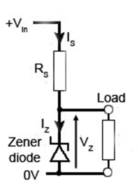 zener diode regulator calculator regulated power supplies