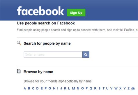 Faebook Search How To Find Someone On Without Logging In