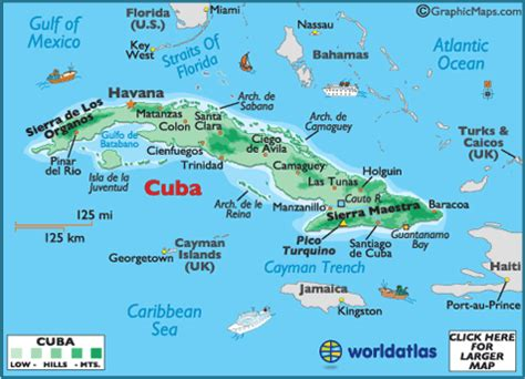 map of usa and cuba cuba attractions travel and vacation suggestions