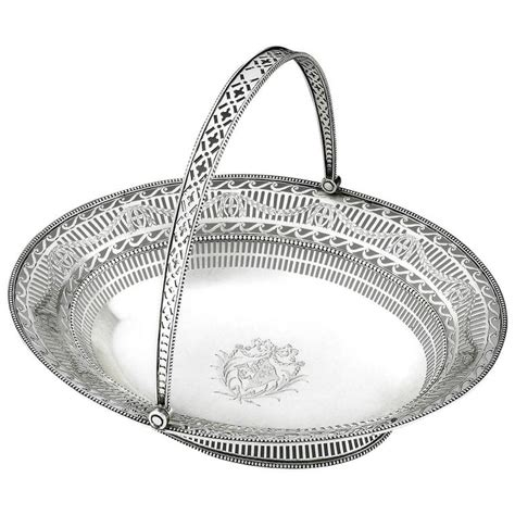 Exceptional Jewellry By Grainne Morton by Extremely George Iii Neo Classical Bread Basket By