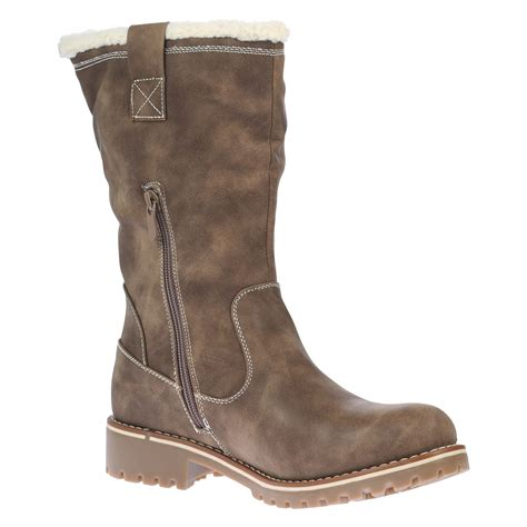 womens boots mid calf ankle warm winter grip