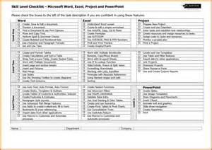 Checklist Template Microsoft Word by 7 Microsoft Word Checklist Template Itinerary Template