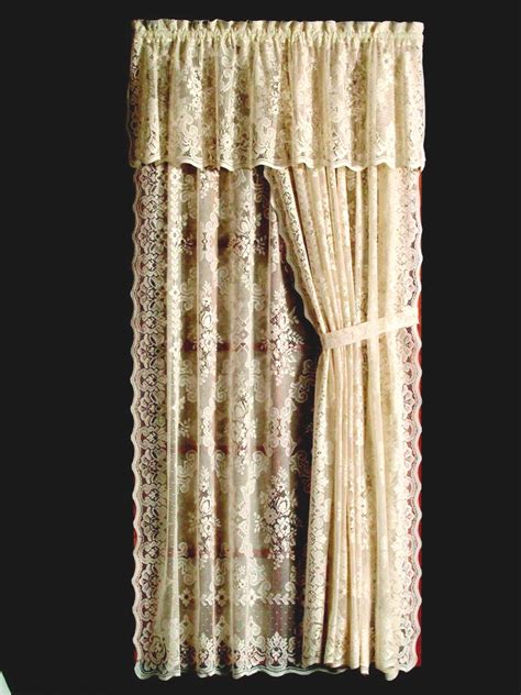 lace drapes highland lace curtain panel