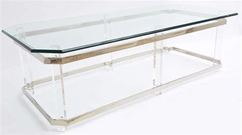 lucite and chrome terrarium coffee table at 1stdibs chrome and lucite coffee table saturday sale at 1stdibs