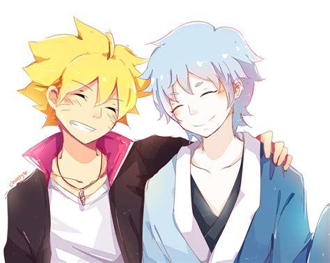 boruto mitsuki boruto and mitsuki friendship by chappyvii on deviantart