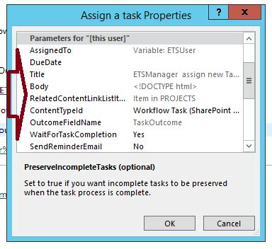sharepoint workflow assign task how to get custom field in the sharepoint designer
