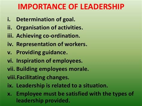 Significance Of L by Seminar On Leadership Styles And Its Function In Nursing