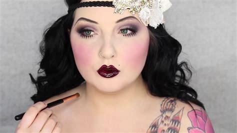 zombie flapper tutorial 1920 s zombie flapper makeup tutorial jordan hanz youtube