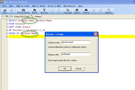 how to change table name in sql how to change table name in sql asp net and sql server