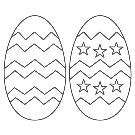 Easter Eggs Colouring Pages To Print Free Printable Easter Egg Coloring Pages For Kids