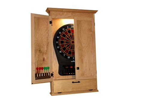 build  simple dartboard cabinet woodworkers guild
