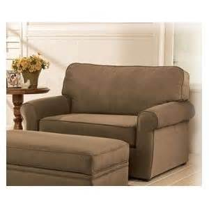 mocha chair and 1 2 size sleeper by
