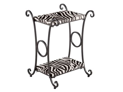 print accent table print accent table zebra