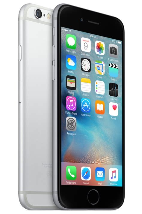 iphone apple iphone 6 32go gris sideral pas cher smartphone darty iziva