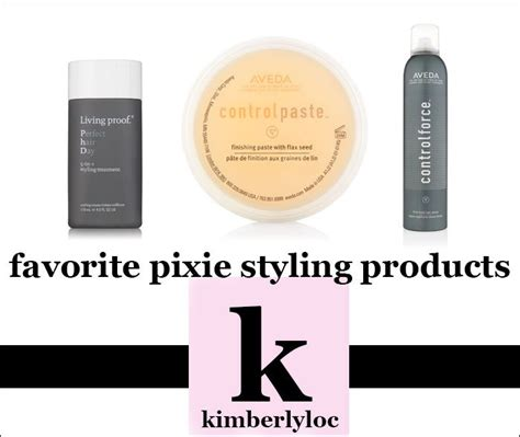 Pixy Moisturizer best pixie cut hair styling products kimberlyloc