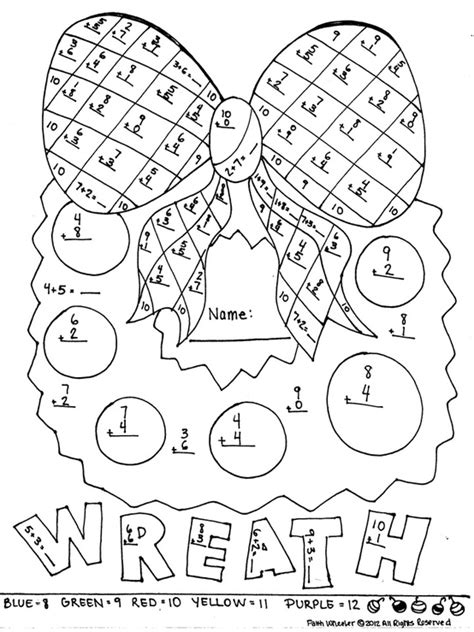 christmas coloring pages for first grade 1st grade addition freebie