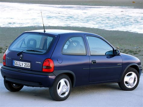 opel swing opel corsa swing 3 door b 1998 2000 wallpapers 1600x1200