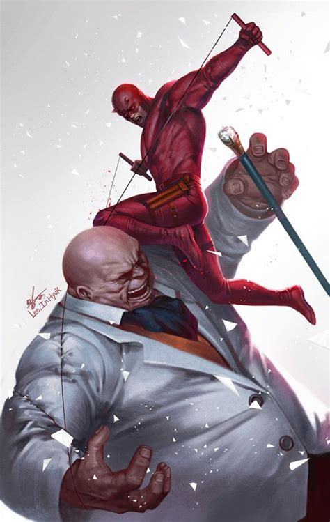 daredevil vs kingpin in hyuk on artstation at https