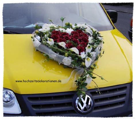 Auto Herz by Autoherz Verschlungene Callas Hochzeitsdekorationen