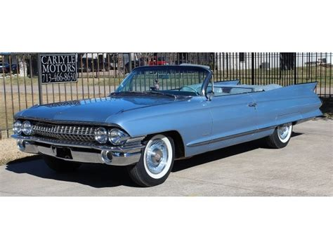 1961 Cadillac Convertible For Sale by Used 1961 Cadillac Series 62 Convertible For Sale In